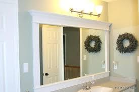 Trim For Mirrors In Bathroom Trim Bathroom Mirror Juracka Info