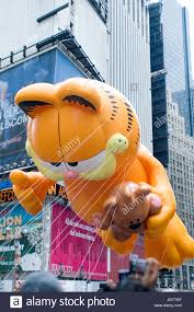 garfield balloon in the 2005 macy s thanksgiving day parade in new