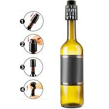 best wine gifts vinoplease vacuum wine stopper vinoplease