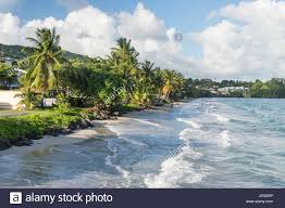 le diamant beach in martinique stock photo royalty free image