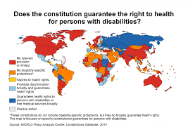 Health Map Fundamental Rights Of Persons With Disabilities On The Map