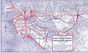 San Gabriel Map Off The Rails U2013 The Rise And Fall Of The Streetcar