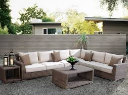 Patio Furniture Sectional Seating - amazon com coronado resin wicker outdoor seating set patio