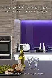Kitchen Splashback Ideas Uk 23 Best Purple U0026 Pink Glass Splashbacks Images On Pinterest