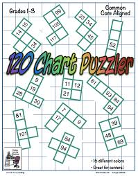 101 games pattern riddle 120 chart math puzzles number chart chart and math