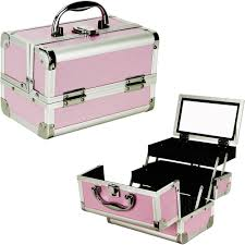 rolling makeup case with lighted mirror top 84 magic makeup kit box with lights beauty case mirror and