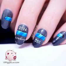 nail art piggieluv is loading new years nail art dreaded photo
