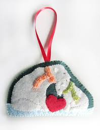 Felt Penguin Christmas Ornament Patterns - 1877 best i felt images on pinterest christmas crafts