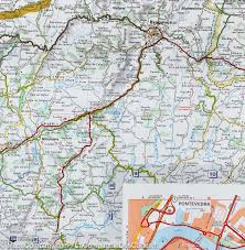Maps Spain by Map Of Galicia Northwestern Spain Michelin U2013 Mapscompany