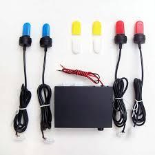 strobe lights for car headlights free shipping car u spiral tube fog l flash l strobe light