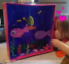 make an aquarium out of a shoe box these pets won u0027t cost money