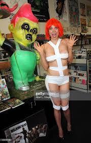 Leeloo Halloween Costume Maitland Ward Photo Shoot Photos Images Getty Images