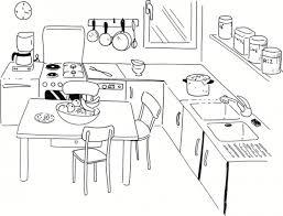 coloriage cuisine coloriage cuisine maternelle dessin gratuit à imprimer