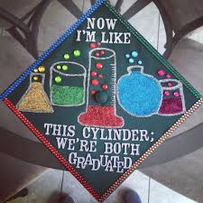 Biology major Graduation cap decoration College of science and