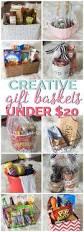creative gift basket ideas under 20 creative gift baskets