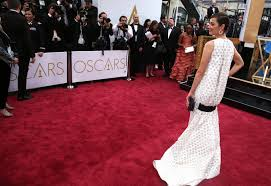 oscar red carpet dominated by classic fashion statement necklaces