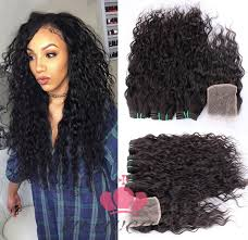 weave extensions indian hair lace closure with hair weaves extensions hot sale 1 png