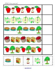 apple worksheets for kindergarten u0026 free printable kindergarten