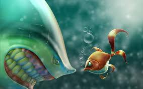 funny fish cartoon 7011786
