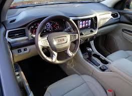 Gmc Acadia Denali Interior Review 2017 Gmc Acadia Midsize Crossover U2013 Choose Cars Wisely