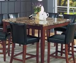Dining Tables With Marble Tops Marble Top Square Dining Table By Coaster