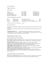 Sample Faculty Resume by Sample Adjunct Professor Resume Free Resume Example And Writing