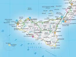 Google Map Of Europe by Map Of Sicily U2022 Mapsof Net