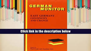 unlimited ebook east germany continuity and change german