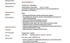 Senior Project Manager Resume Sample by Stock Resume Stock Resume Kylestockresume Stock Resume Stock