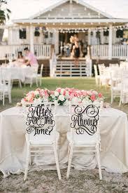 wedding chair wedding chair signs