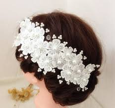 wedding flowers in hair 2016 hair flowers accessories wedding flowers appliques lace
