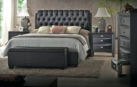 Black Tufted Bed Frame Black Tufted Bed Best Black Upholstered Headboard King Charming