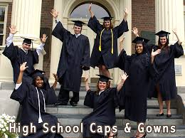 cap and gown for high school welcome to oak cap gown