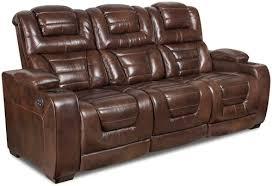 Single Recliner Sofa Corinthian 73901 Power Headrest Recline Sofa Furniture Fair