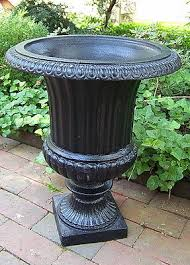 cast iron urns collection on ebay