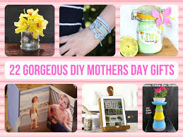 gorgeous diy mothers day gifts
