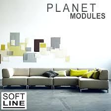 softline canapé canape design modulable canapac planet par softline un sofa