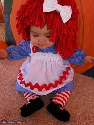 Baby Biker Costume Toddler Halloween Raggedy Ann Baby Costume Costume Works Halloween Costume