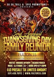 so so trill epic promo presents 3rd annual thanksgiving day