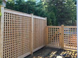 cedar fence install it yourself lanark cedar