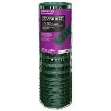 everbilt 2 1 3 ft x 50 ft pvc rabbit guard garden fence 308376eb