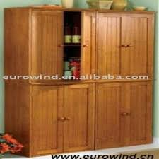 real wood kitchen pantry cabinet high quality 2 doors solid wood pantry cabinet global sources