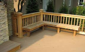 how to build deck bench seating landscaping and outdoor building built in seating deck benches