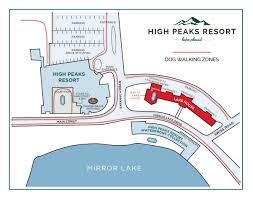 Lake Placid New York Map by Pet Friendly Hotels High Peaks Resort Lake Placid Ny