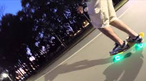 lexus hoverboard wiz penny board sunset led wheels short version youtube