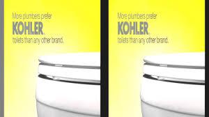 Kohler Toilet Seat Colors Kohler Cimarron Toilet Featuring Aquapiston Technology Youtube