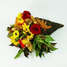 cornucopia arrangements thanksgiving floral arrangements fresh arrangement delivered in