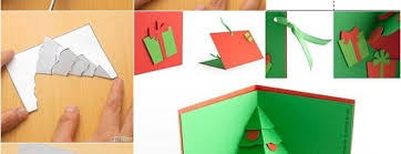 diy tree pop up card beesdiy