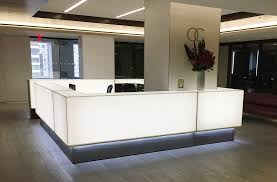 Corian Reception Desk Custom Designs Arnold Contract