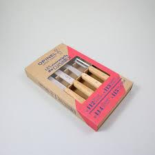 opinel essentials utility knife set nook